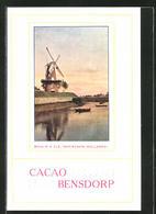 AK Gorinchem, Moulin A Blé, Cacao Bensdorp - Landwirtschaftl. Anbau