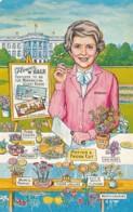 Humour Nancy Reagan Nancy's Flower Sale - Humour
