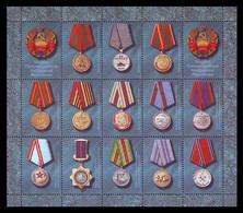 Moldova (Transnistria) 2018 No. 859/71 Medals Of Transnistria MNH ** - Moldova