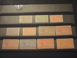NEPAL -SERVIZIO - 1961 STEMMA 11 VALORI (2 R. Con Piega) - NUOVI(++) - Népal