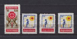 Yugoslavia Charity Stamp TBC 1990 Cross Of Lorraine,  Red Cross Week Tuberculosis, MNH - Wohlfahrtsmarken