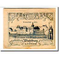 Billet, Autriche, Wieselburg An Der Erlauf N.Ö. Marktgemeinde, 50 Heller - Autriche