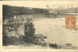 AUDIERNE  -- L'usine Du Stum, Le Château De Keristum Et La Ribvière Du Goyen                                 -- Artaud 1 - Audierne
