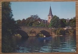 ANSEREMME - Pont Saint-Jean - Ponte Bridge Boat Barque - Belgio