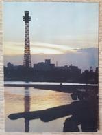 Yokohama - Marine Tower In Twilight  Nv - Yokohama