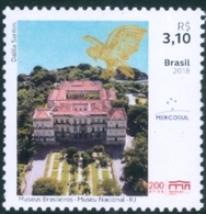 BRAZIL 2018  - NATIONAL MUSEUM OF RIO DE JANEIRO -  MINT - Brasile