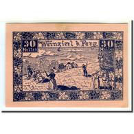 Billet, Autriche, Weinzierl Bei Perg O.Ö. Gemeinde, 30 Heller, Texte 1, 1920 - Autriche