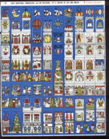 USA 1970's Xmas Seals 4 Scans - Stamps