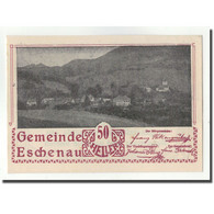 Billet, Autriche, Eschenau, 50 Heller, Paysage, 1920, SPL, Mehl:FS 186a - Autriche