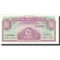 Billet, Grande-Bretagne, 1 Pound, Undated (1962), KM:M36a, NEUF - Emissions Militaires