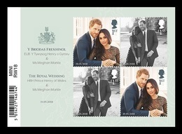 Great Britain 2018 Mih. 4214/15 (Bl.114) Royal Wedding. Prince Harry And Meghan Markle MNH ** - 1952-.... (Elizabeth II)