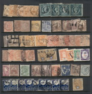 NSW 1860's On Assorted Oddments, Duplicates, Interest For Postmarks, Perforations, Shades & Watermark Varieties,  (fault - Stamps
