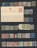 VIC 1860's On Assorted Oddments, Duplicates, Interest For Postmarks, Perforations, Shades & Watermark Varieties,  (fault - Stamps