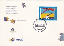 DONACION DE ORGANOS, INCUCAI. FDC 2000 MERCEDES, ARGENTINE- BLEUP - Medicina