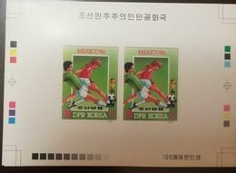L) 1985 KOREA, PROOF, SPORT, MEXICO 86, WORLD CUP, FOOTBALL, XF - Korea (...-1945)