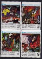 Comores N° 249  / 52 X  Europe-Afrique Les 4 Valeurs Trace De Charnière Sinon TB - Comores (1975-...)