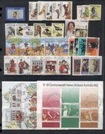 Australia 1980-84 Mostly Complete For The Era Selection Ex FDC, FU 5 Scans - Stamps