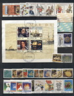 Australia 1985-89 Mostly Complete For The Era Selection Ex FDC, FU 7 Scans - Stamps