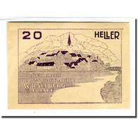 Billet, Autriche, Wieselburg An Der Erlauf N.Ö. Marktgemeinde, 20 Heller - Autriche