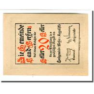 Billet, Autriche, Werfen, 20 Heller, Paysage 1, 1920, SPL, Mehl:1172 - Autriche