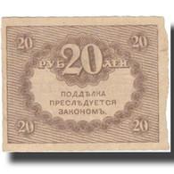 Billet, Russie, 20 Rubles, 1917, 1917-09-04, KM:38, TTB+ - Russie