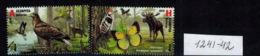 E01 Belarus 2018 Nature Reserves. RCC. 2v: A,H Mi 1241-42 Postfrisch - Belarus