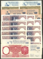 ARGENTINA: Lot Of Banknotes Of Varied Periods, Little Duplication (of Some There Are Different Issues), VF General Quali - Manuscrits
