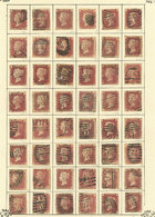 GREAT BRITAIN: Old Collection On Album Pages, Used Or Mint Stamps, Fine General Quality (some With Defects), Good Opport - Grande-Bretagne