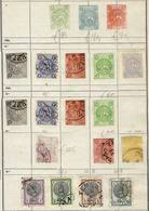 IRAN: Old Collection On Album Pages With Large Number Of Rare And Interesting Stamps And Sets, Including Some Classics.  - Iran