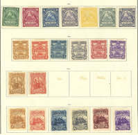 NICARAGUA: Old Collection On Album Pages, Used Or Mint Stamps, Fine General Quality, Good Opportunity! IMPORTANT: Please - Nicaragua
