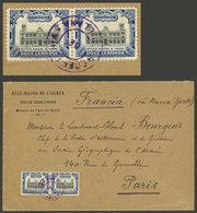 "PERU: ""Circa 1905, Cover With Corner Card Of ""État Major De L'Armée - Service Géographique - Mesure De L'arc De Quito"" S - Peru"