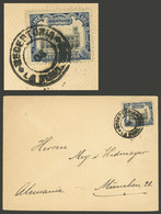 PERU: Circa 1906, Cover Sent To Germany Franked With 12c. (10c. Postage + 2c. For Transit Through The Isthmus Of Panama) - Peru