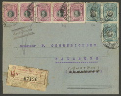 PERU: Circa 1920, Cover Front Sent From Paita To Austria With Attractive Large Postage Of 50c., VF! - Peru