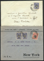 PERU: REDUCED RATE For UPAE Countries: Cover Sent From Lima To Buenos Aires On 4/OC/1922 With Reduced Postage Of 5c. (ra - Peru
