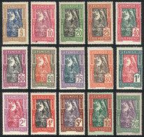 TUNISIA: Yvert 11/25, 1926 Dates, Cmpl. Set Of 15 Mint Values, Very Fine Quality! - Tunisie (1956-...)