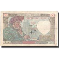 France, 50 Francs, 50 F 1940-1942 ''Jacques Coeur'', 1940, 1940-09-26, TTB - 1871-1952 Anciens Francs Circulés Au XXème