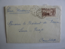 TONKIN HANOÏ  TIMBRE POSTE RF INDOCHINE CACHET A DATE 1923   Déc 2018 Abl 5 - Indochine (1889-1945)