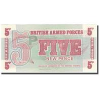 Billet, Grande-Bretagne, 5 New Pence, Undated (1972), KM:M44a, NEUF - Emissions Militaires