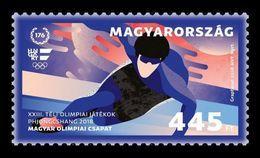 Hungary 2018 Mih. 5938 Olympic Winter Games In Pyeongchang. Short Track MNH ** - Hungary