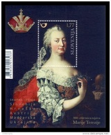 Slovenia 2017 Mih. 1246 (Bl.96) Empress Maria Theresa (joint Issue Slovenia-Austria-Croatia-Hungary-Ukraine) MNH ** - Slovénie