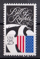USA,1989- Bill Of Rights. MintNH - Neufs