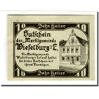 Billet, Autriche, Wieselburg An Der Erlauf N.Ö. Marktgemeinde, 10 Heller - Autriche