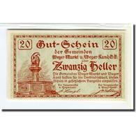 Billet, Autriche, Weyer, 20 Heller, Texte 1, 1920, 1920-03-14, SPL, Mehl:1175 - Autriche