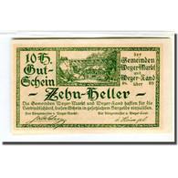 Billet, Autriche, Weyer, 10 Heller, Texte, 1920, 1920-03-14, SPL, Mehl:1175 - Autriche