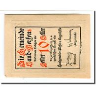 Billet, Autriche, Werfen, 10 Heller, Paysage, 1920, SPL, Mehl:1172 - Autriche