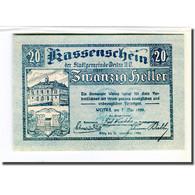 Billet, Autriche, Weitra, 20 Heller, Paysage 3, 1920, 1920-05-07, SPL - Autriche