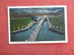 Panama  Miraflores By Moonlight  Has Stamp & Cancel     Ref 3091 - Panama