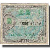 Billet, Japon, 1 Yen, 1944, 1944, KM:67a, TB - Japon