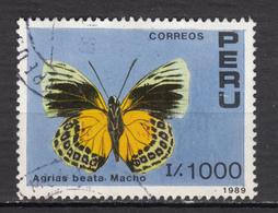 ##25, Pérou, Peru, Papillon, Butterfly, Sc 942 - Pérou