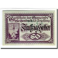 Billet, Autriche, Weissenbach, 50 Heller, Texte 1, 1920, 1920-07-01, SPL - Autriche